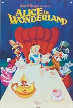 Alice in Wonderland - A3 Metal Wall Sign